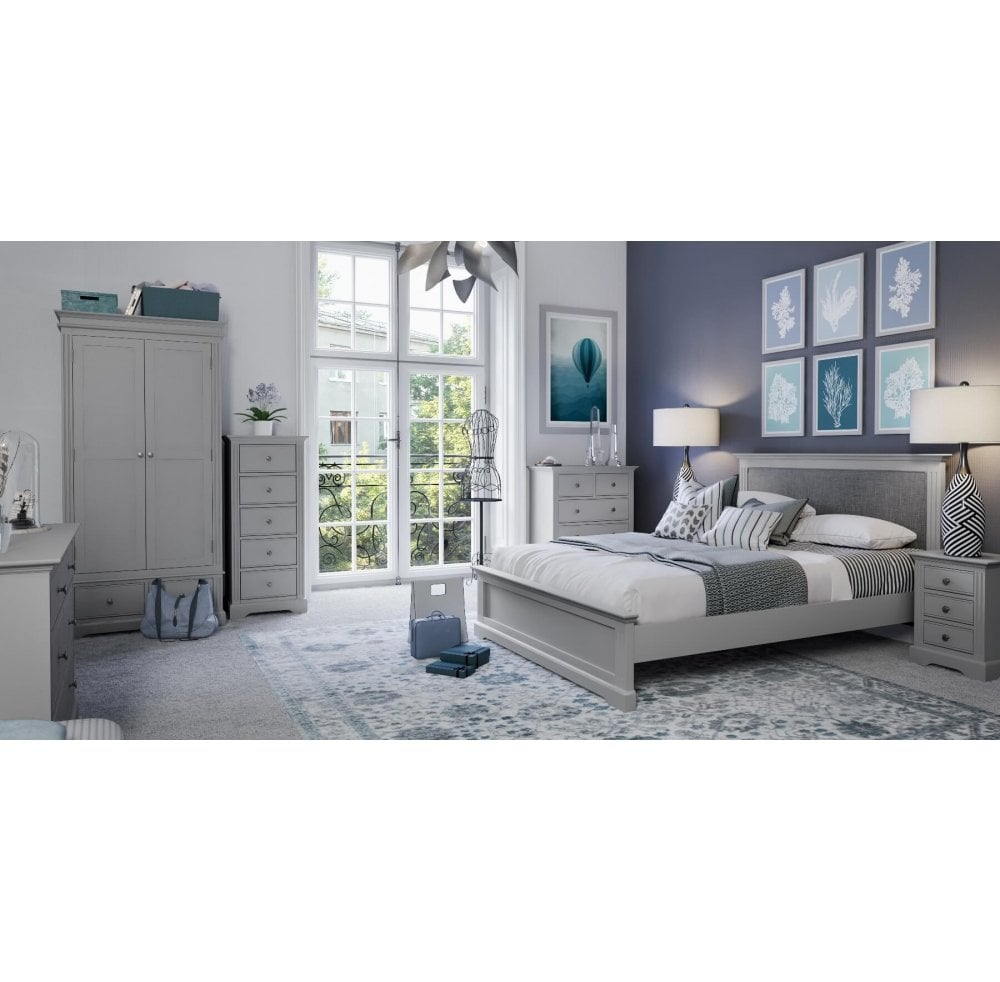 Binnel Grey Bedroom 6 Drawer Chest Furniture Sale From Readers Interiors Uk