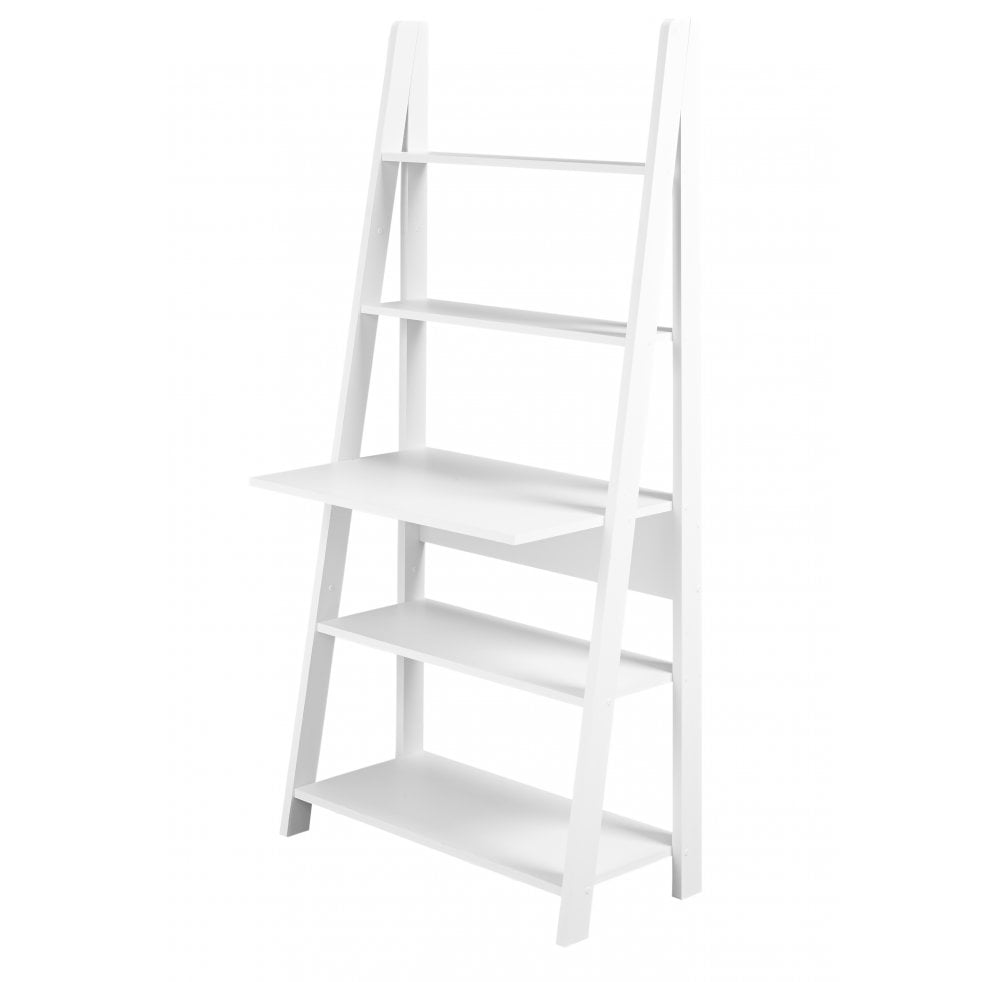 reputable site 0edfb 3da43 Ladder Style Desk - White