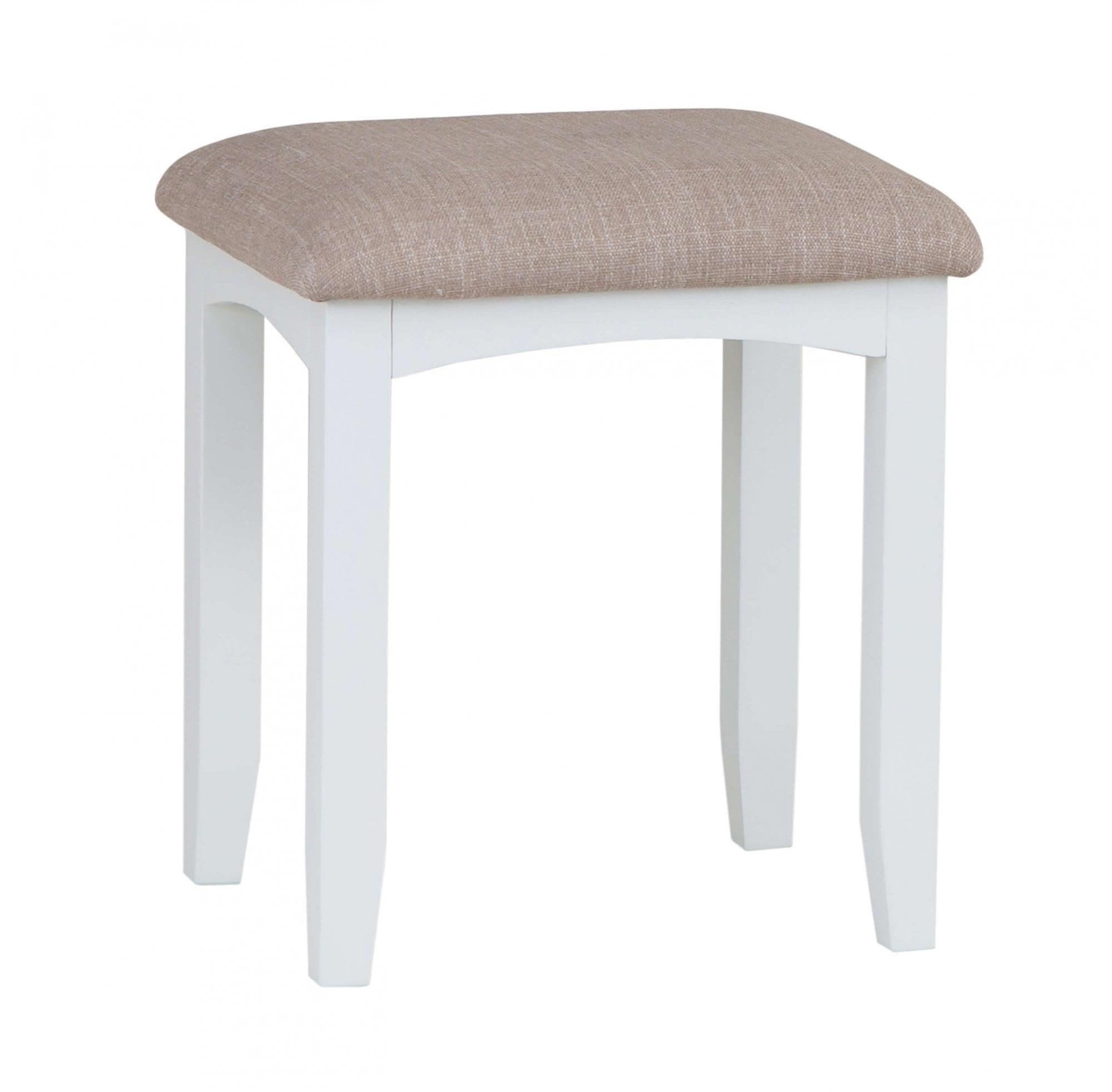 Langbridge White Bedroom Stool Furniture Sale From Readers Interiors Uk