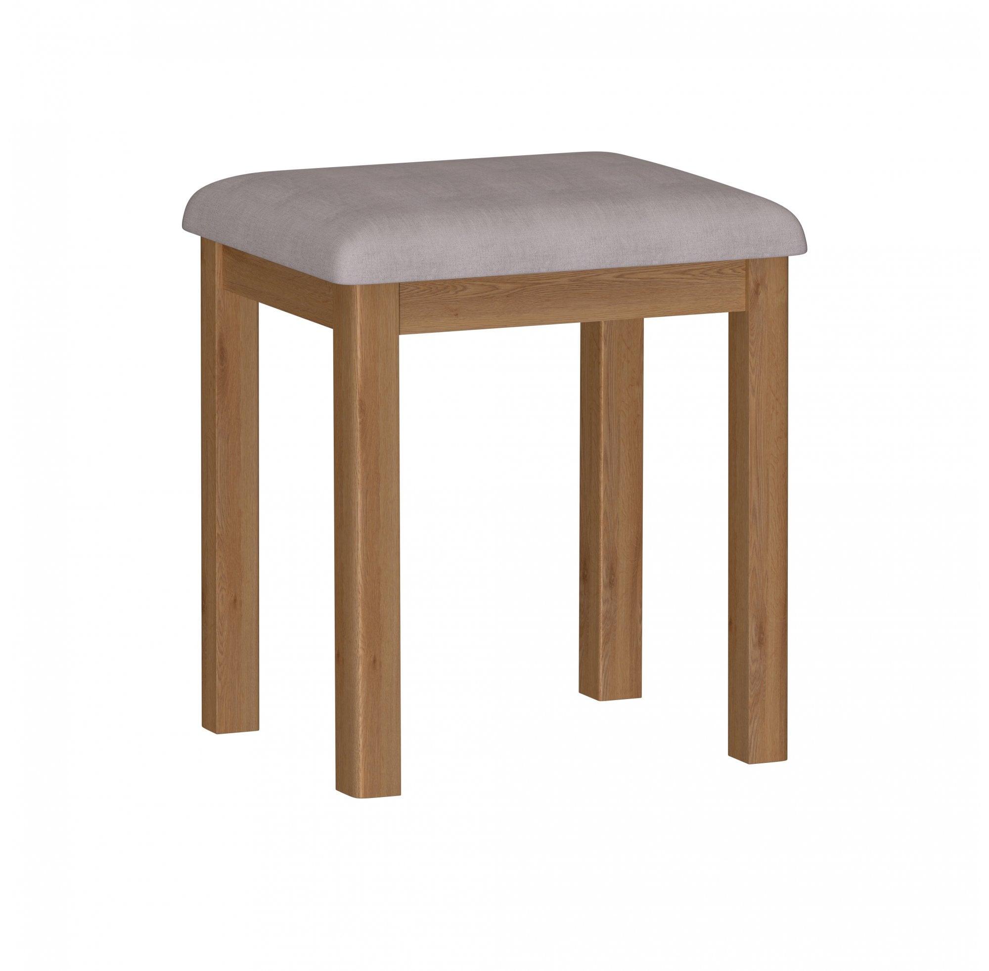 Newbarn Oak Bedroom Stool Furniture Sale From Readers Interiors Uk