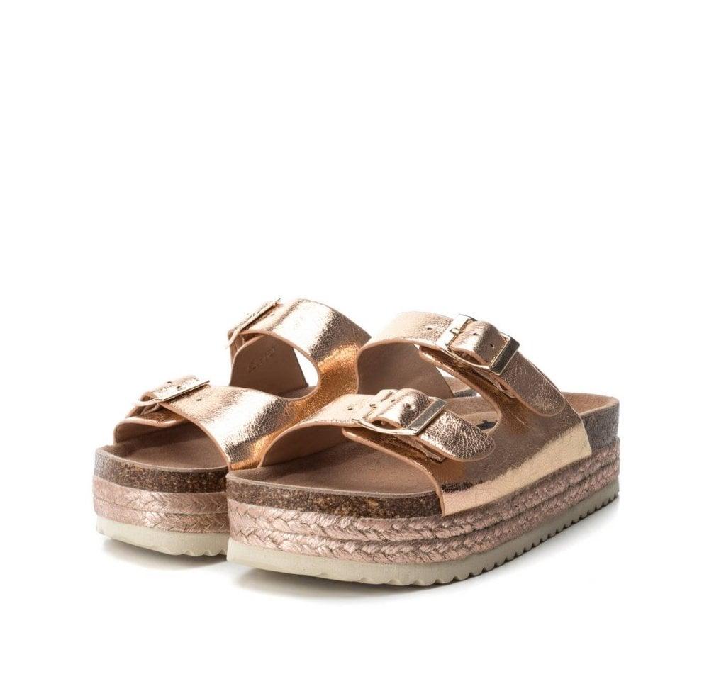 Sandals - Rose Gold - Ladies Boutique
