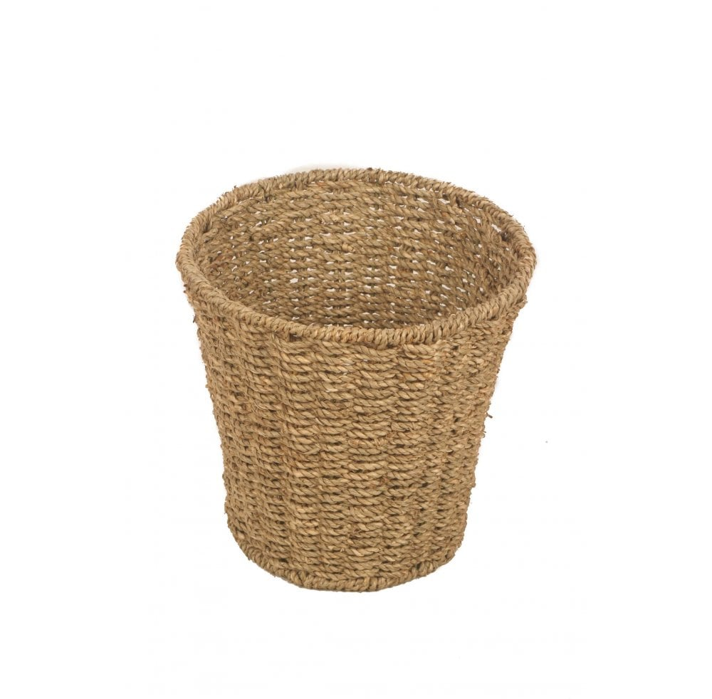 Seagrass Round Waste Basket Home Accessories From Readers Interiors Uk
