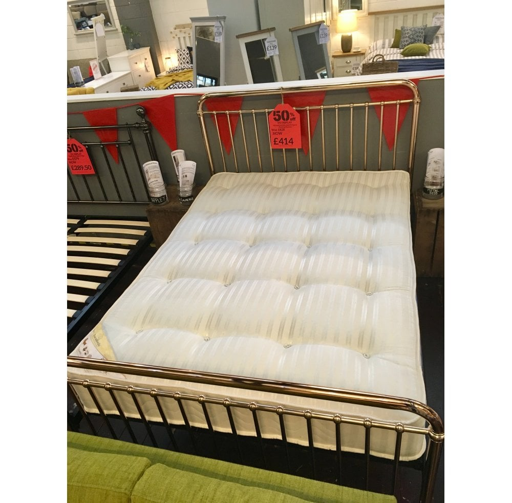 St Lawrence 46 Bed And Pineking Mattress Half Price Clearance