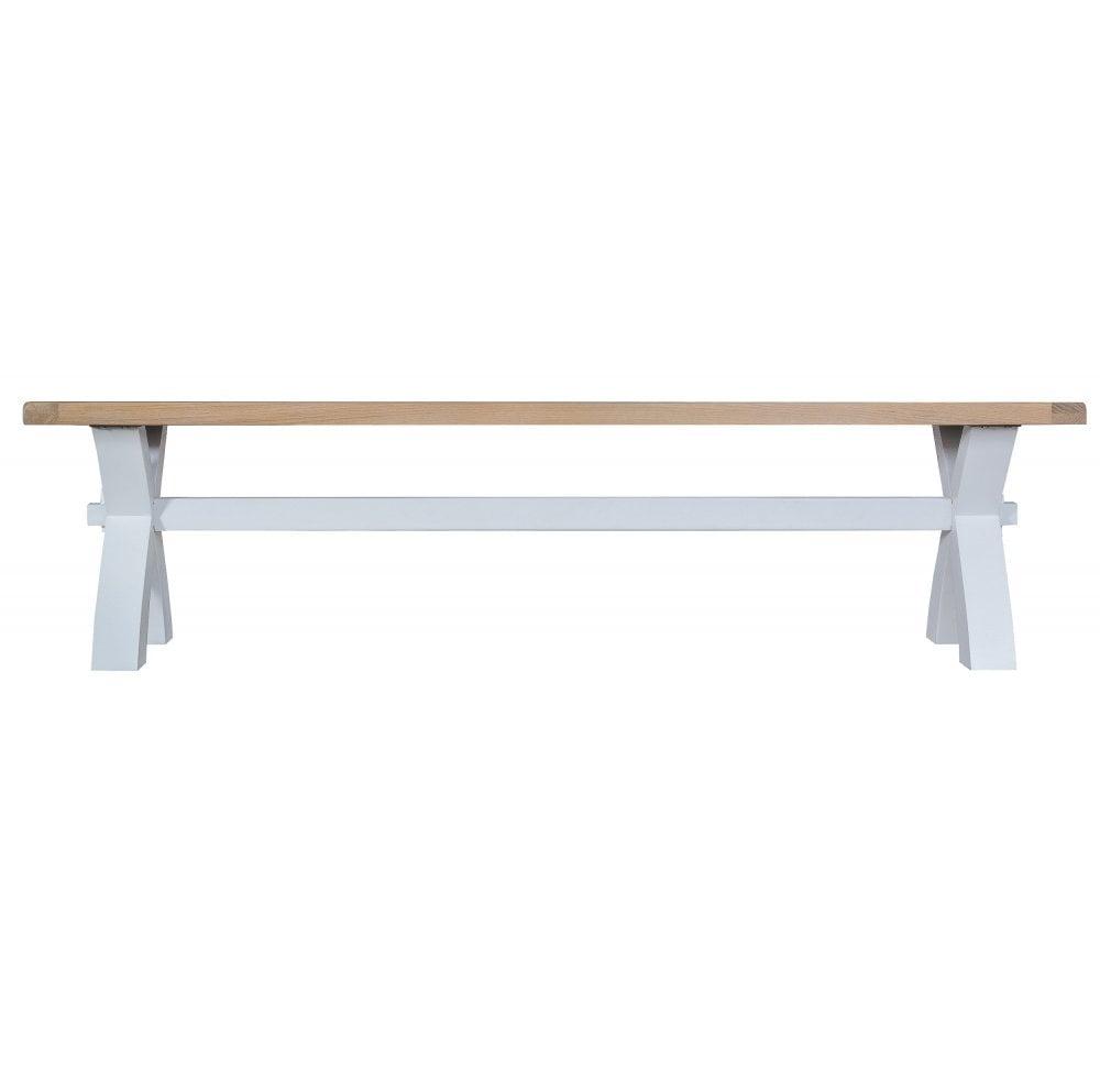 Awe Inspiring Tennyson Grey Small Cross Bench Grey Uwap Interior Chair Design Uwaporg