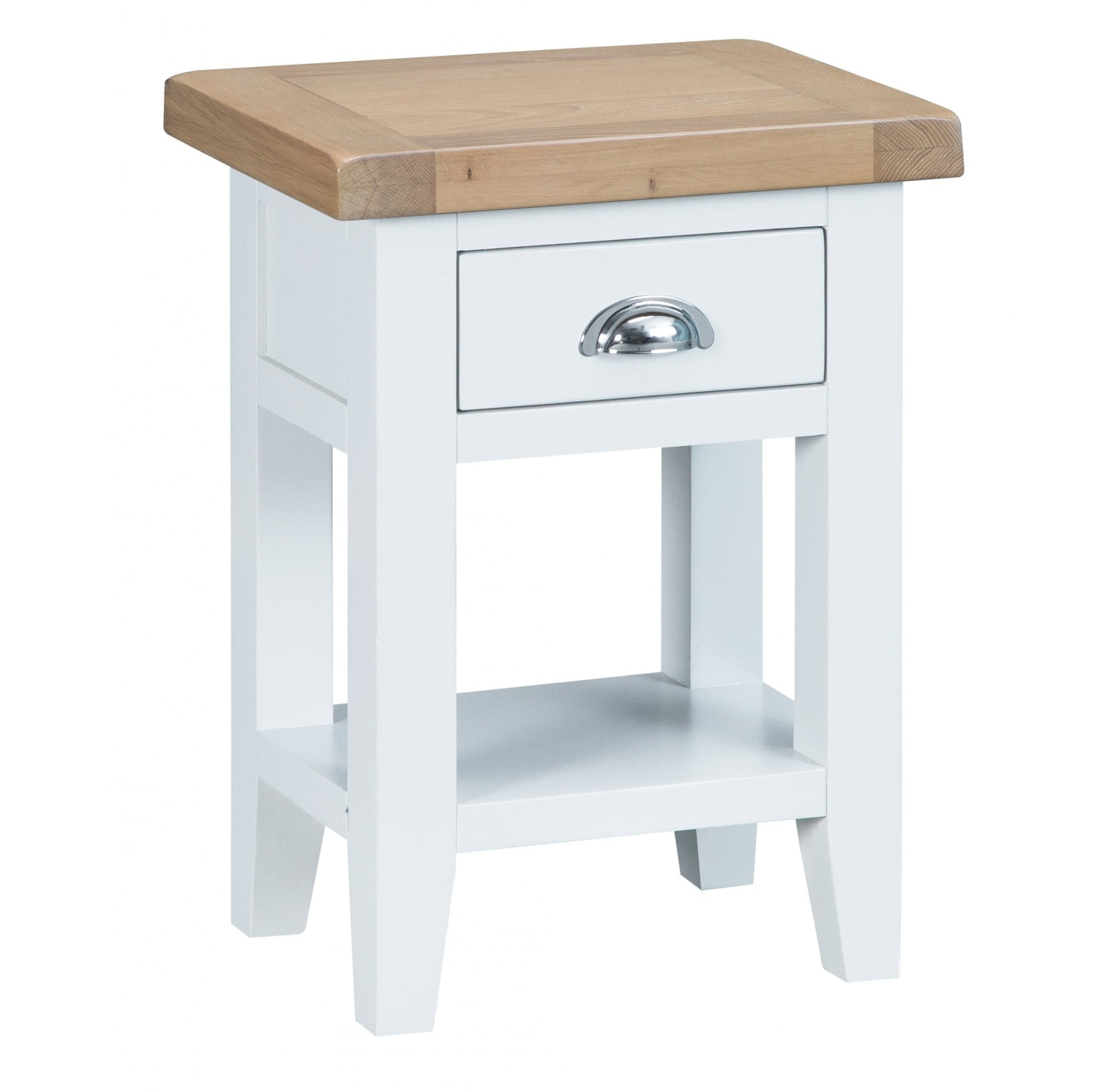 Picture of: Tennyson White Side Table White Furniture From Readers Interiors Uk