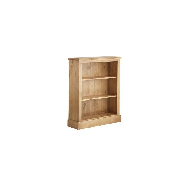 Wellow Pine Low Bookcase
